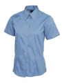 Uneek Ladies Oxford Short Sleeve Shirt UC704